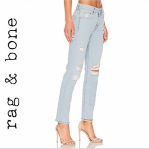 Rag & Bone Marilyn Distressed Jeans - Like New!